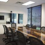 Well equipped boardroom