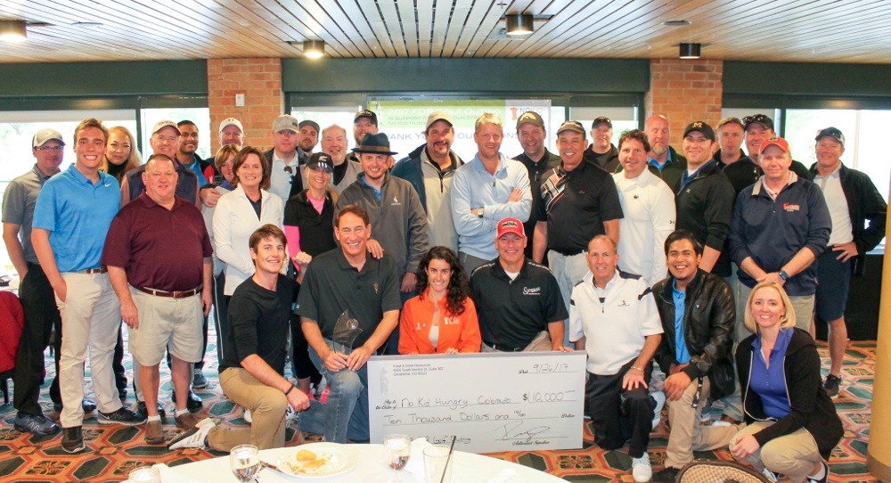 charity golf outing for restaurant industry