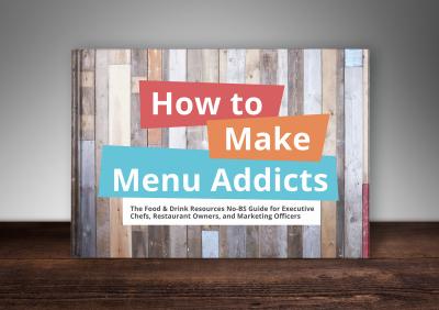 make restaurant menu addicts book