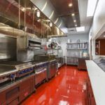 modular commercial test kitchen
